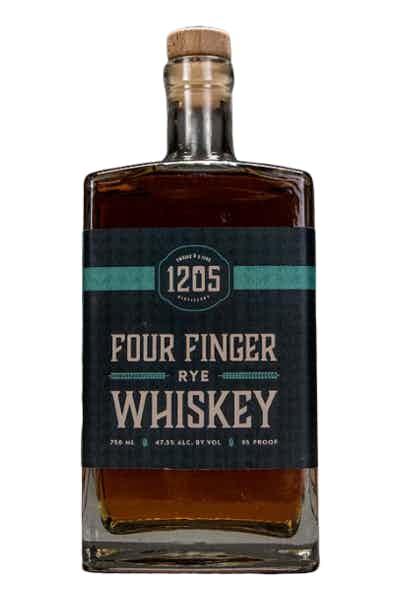 12.05 Four Finger Rye Whiskey