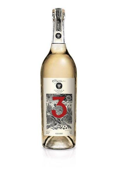 123 Organic Añejo Tequila (Tres)