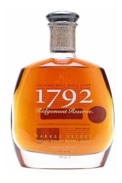 1792 Reserve Barrel Select Bourbon