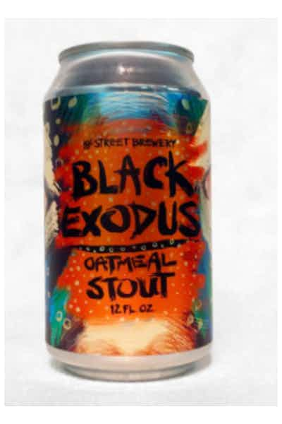 18th Street Black Exodus Oatmeal Stout