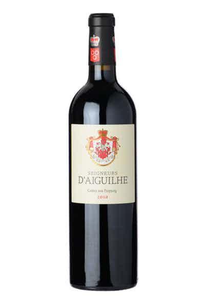 2010 Seigneurs d'Aiguilhe Castillon Cotes de Bordeaux