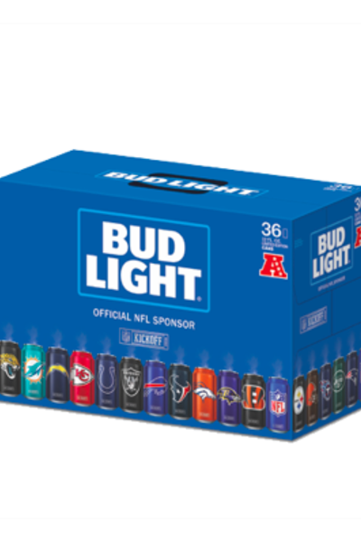 Amazing 2017 Bud Light NFL Team Cans Limited Edition Variety Pack