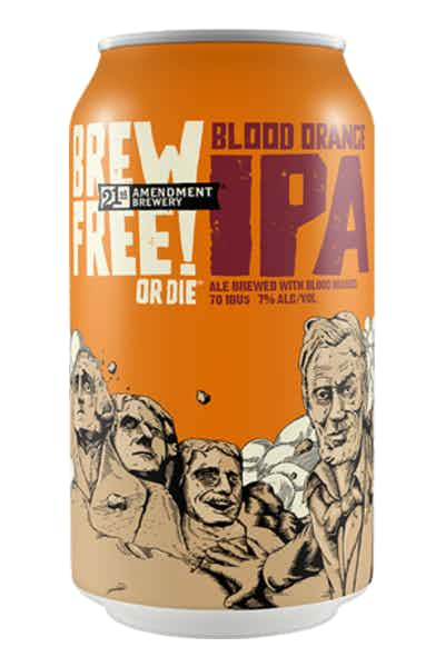 21st Amendment Brew Free or Die Blood Orange