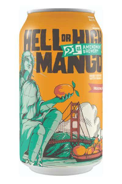 21st Amendment Seasonal - Hell Or High Mango