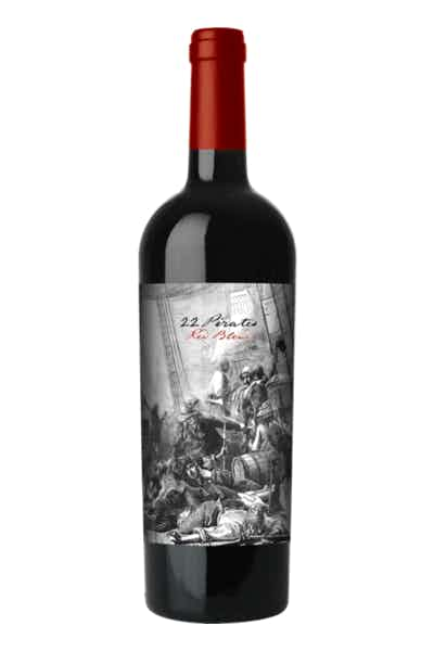 22 Pirates Red Blend