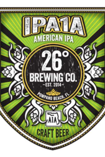 26 Degree IPA1A