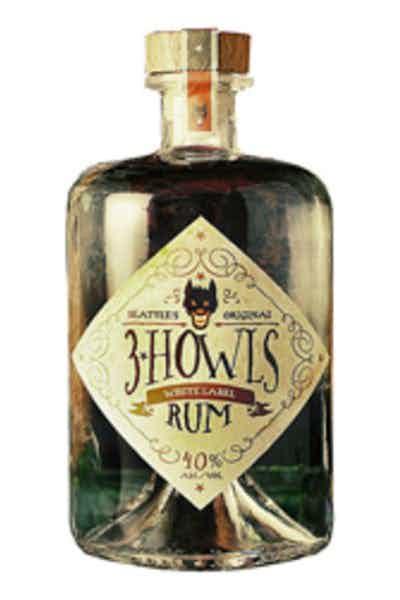 3 Howls White Label Rum