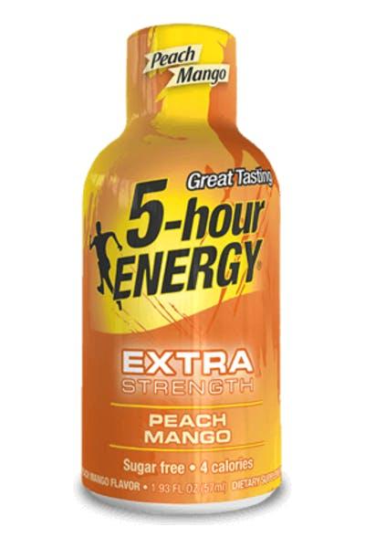 5-Hour Energy Extra Strength Peach Mango