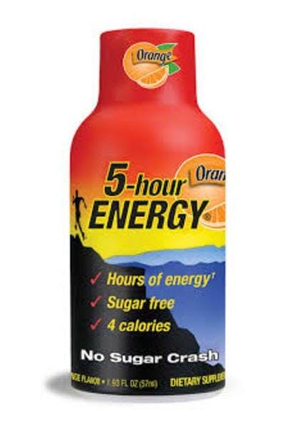5 Hour Energy Orange
