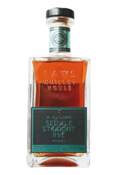 A.D. Laws Secale Single Barrel Rye