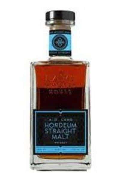A.D. Laws Whiskey Straight Malt Hordeum