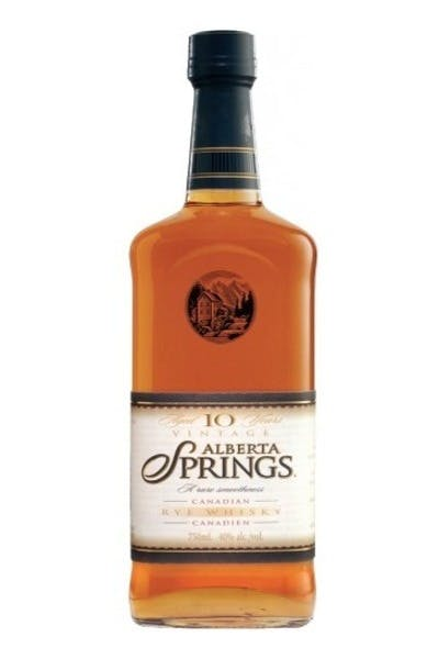 Alberta Springs 10 Year Rye Whisky