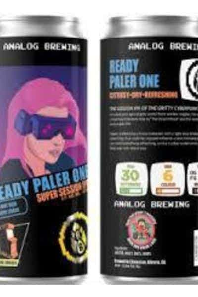 Analog Ready Paler One Super Session Ipa