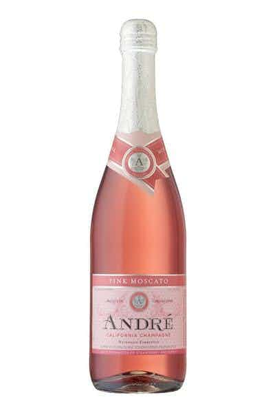 Andre Pink Moscato California Champagne Price & Reviews | Drizly