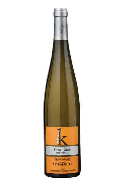 Anne De K Pinot Gris Altenbourg Vieilles Vignes