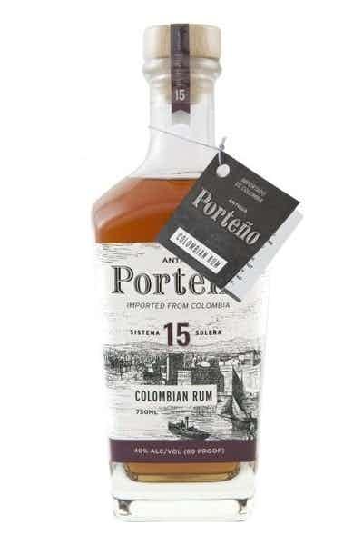 Antigua Porteno Colombian Rum Solera 15 Year