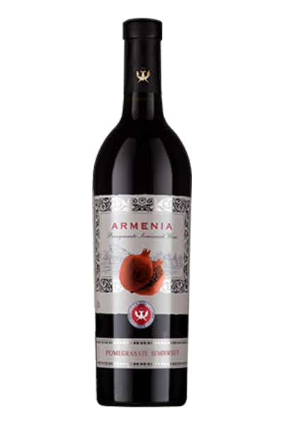 Armenia Pomegranate Semi Sweet Red Wine