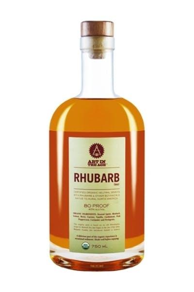 Art in the Age Rhubarb Liqueur