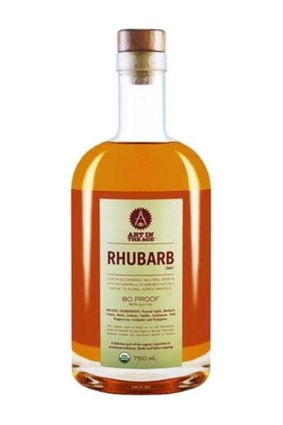 Art In The Age Rhubarb Tea Organic Liqueur