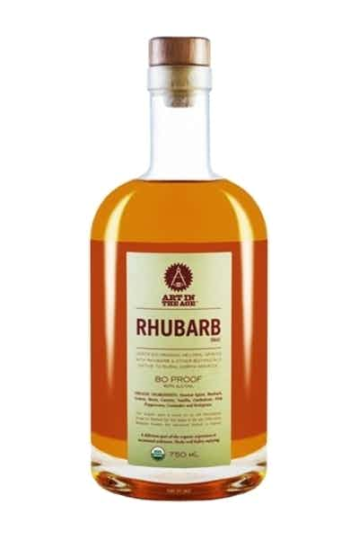 Art In The Age Rhubarb Tea Organic Liqueur
