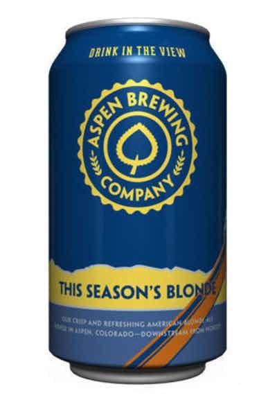 Aspen Brewing This Season's Blonde