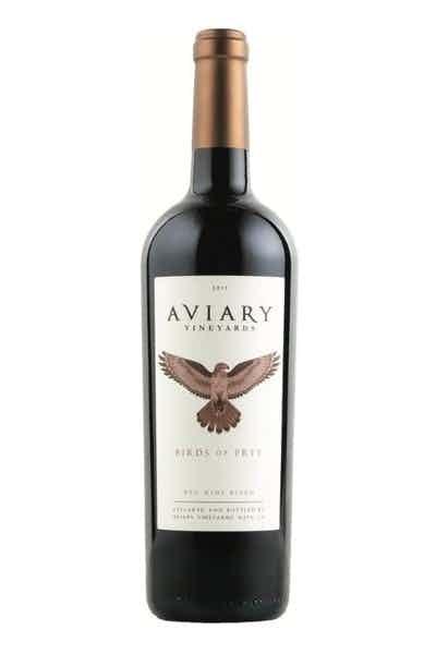 Aviary Birds Of Prey Red Blend