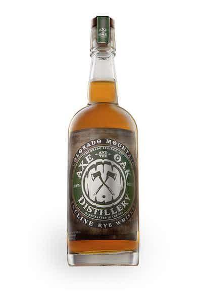 Axe and the Oak Colorado Mountain Incline Rye Whiskey