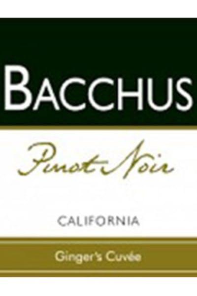 Bacchus Pinot Noir Ginger's Cuvee