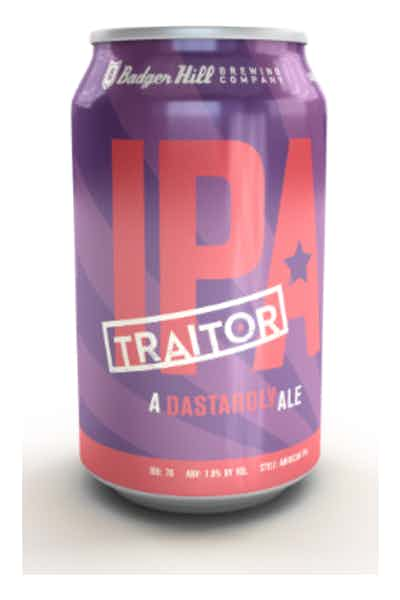Badger Hill Traitor IPA