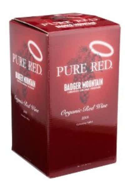 Badger Mountain Organic Red