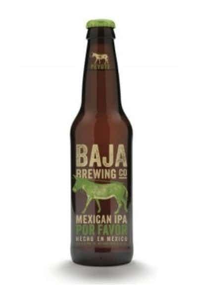 Baja Brewing Mexican IPA Por Favor