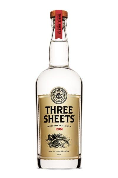 Ballast Point Three Sheets White Rum