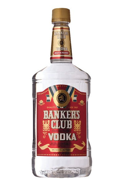Bankers Club Vodka