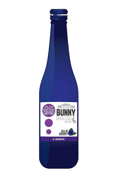 Banzai Bunny Blueberry Sparkling Sake