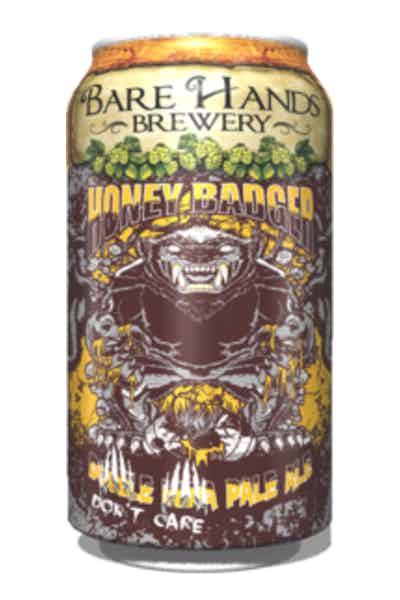 Bare Hands Honey Badger Double IPA