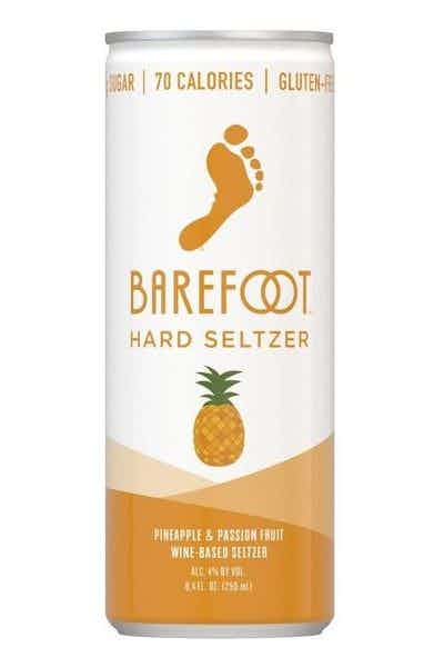 Barefoot Hard Seltzer Pineapple & Passion Fruit
