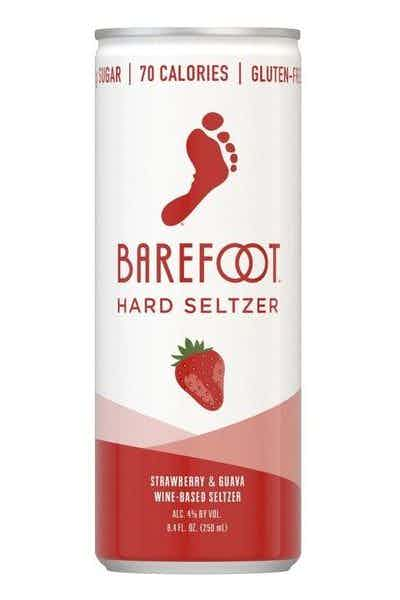 Barefoot Wine Hard Seltzer Strawberry & Guava