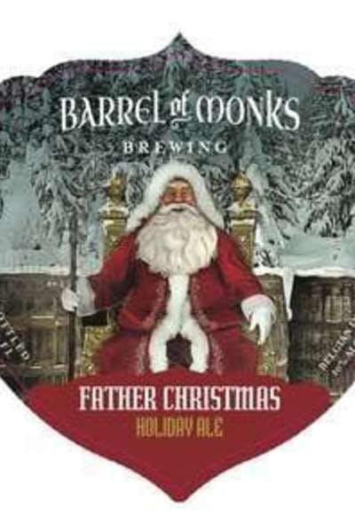 Barrel Of Monks Father Christmas