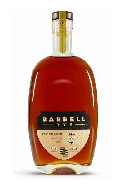 Barrell Rye 5 Year Batch 002