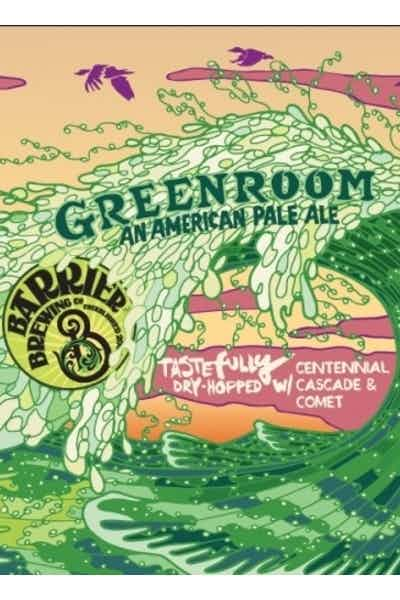Barrier Green Room Pale Ale
