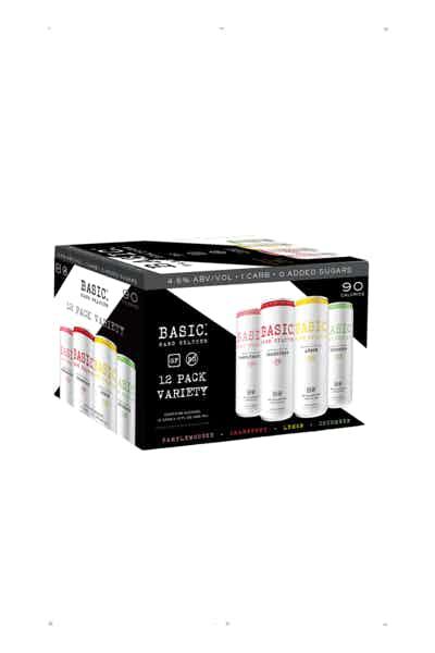 Basic Seltzer Variety Pack