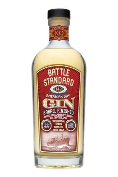 Battle Standard American Gin Barrel Finished