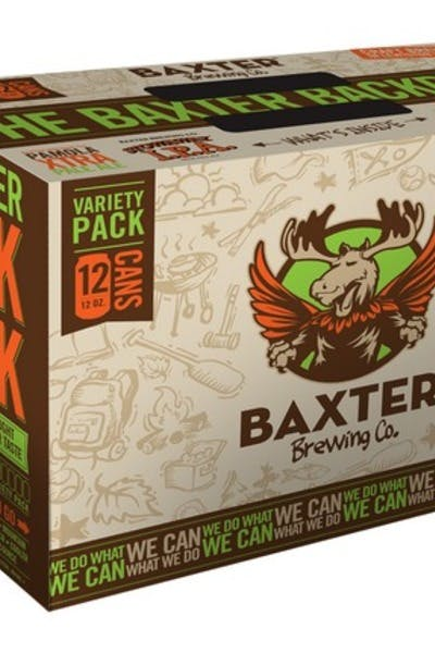 Baxter Backpack Variety Pack