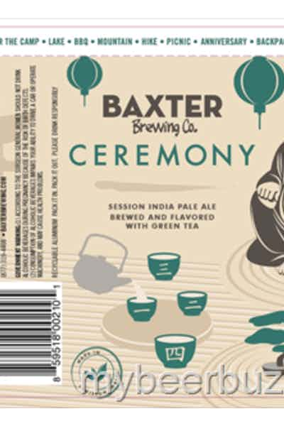 Baxter Ceremony Green Tea IPA