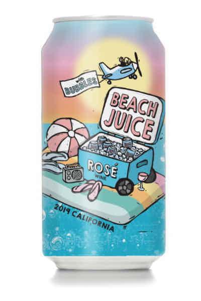 Beach Juice Rosé with Bubbles