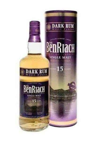 BenRiach Dark Rum Finish Aged 15 Years