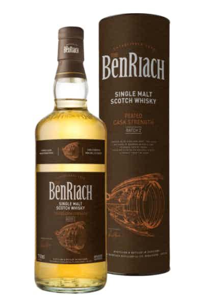 BenRiach Peated Cask Strength Single Malt Scotch Batch 2
