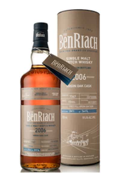 BenRiach Virgin Oak Cask Single Malt Scotch 10 Year