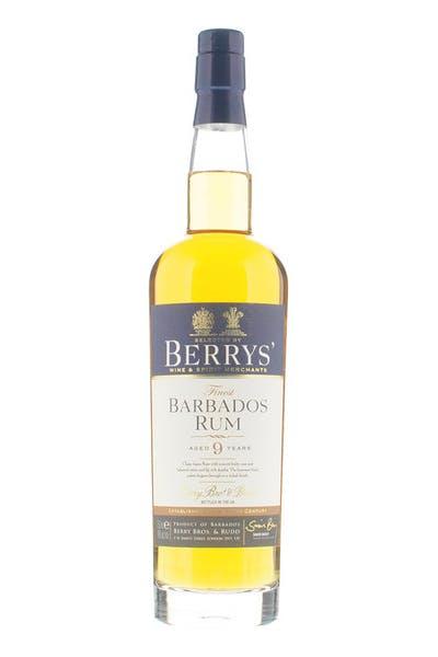 Berrys' Barbados 9yr Rum