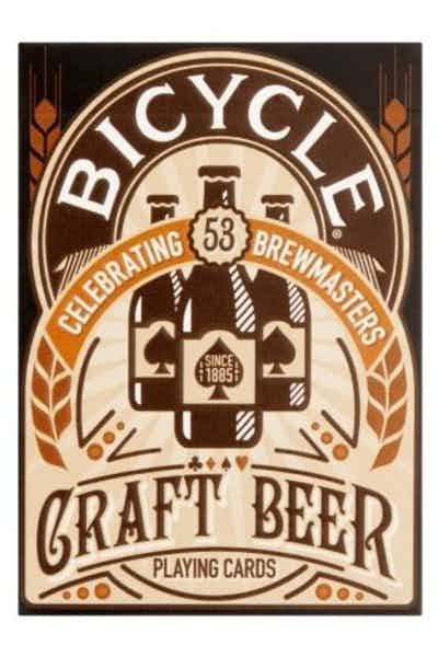 Bicycle Celebrating Brewmasters Craft Beer Playing Cards